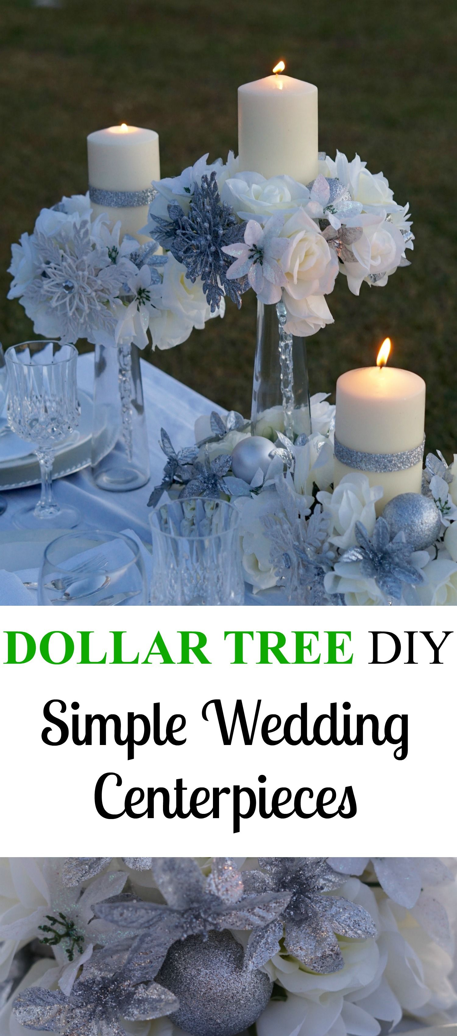 Best Elegant Dollar Tree Wedding Centerpiece Perfect For A This Month