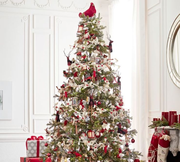 Best Pottery Barn Christmas Decorating Ideas Beautifully Seaside This Month