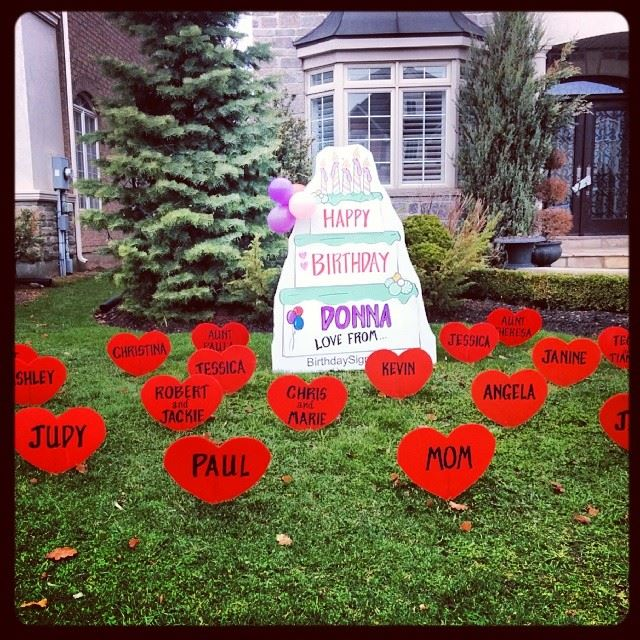 Best Birthday Lawn Signs Lawn Greetings Lawn Decorations This Month