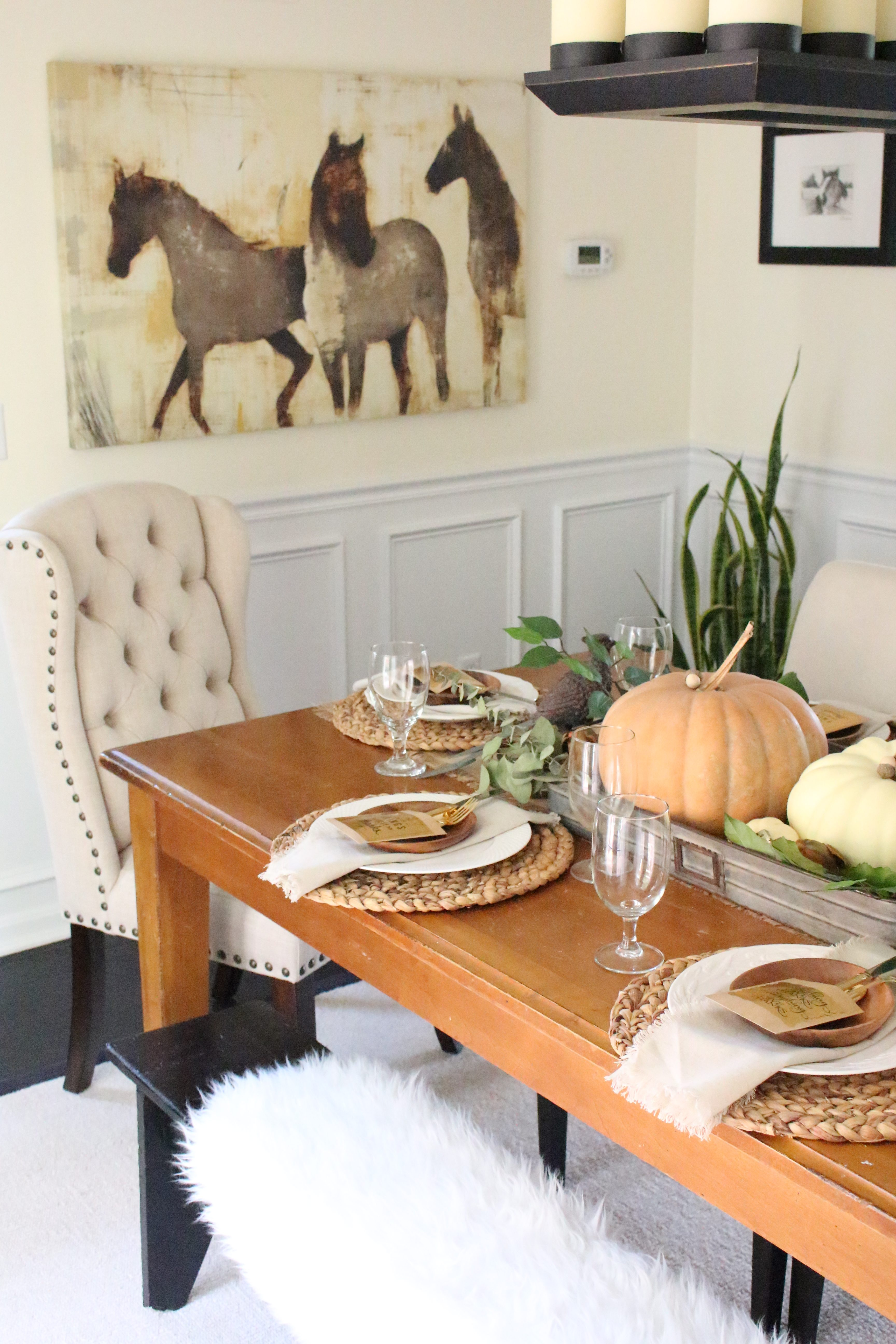 Best Rustic Thanksgiving Tablescape My Life From Home This Month