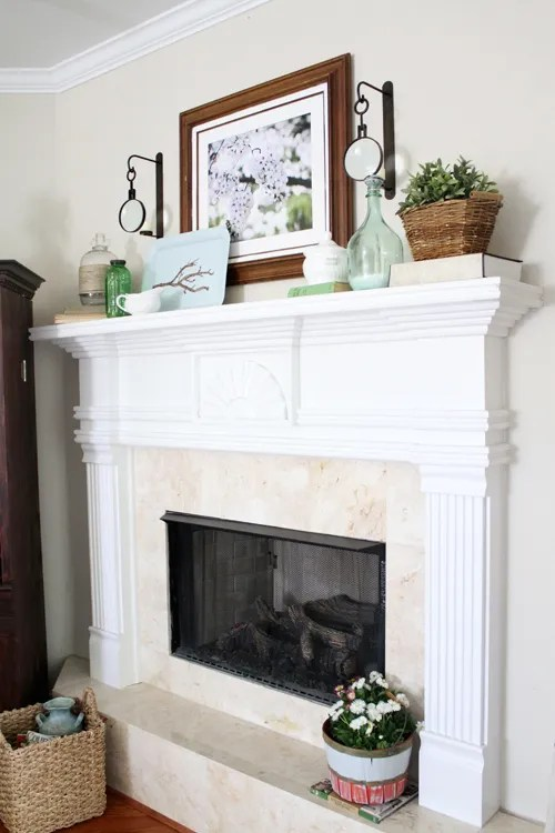 Best Gorgeous Spring Mantels Decorate Mantel Home Stories A This Month