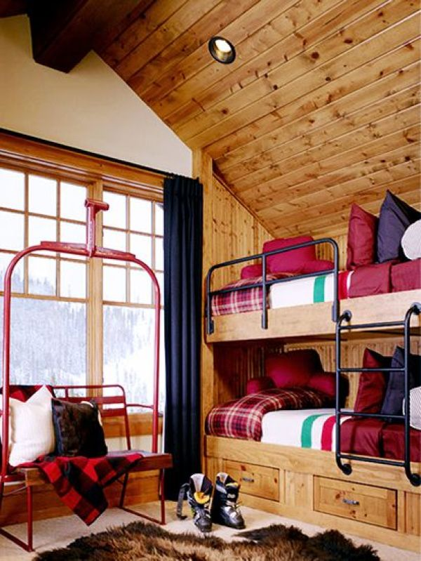 Best Chic Decor For The Ski Chalet The Well Appointed House This Month