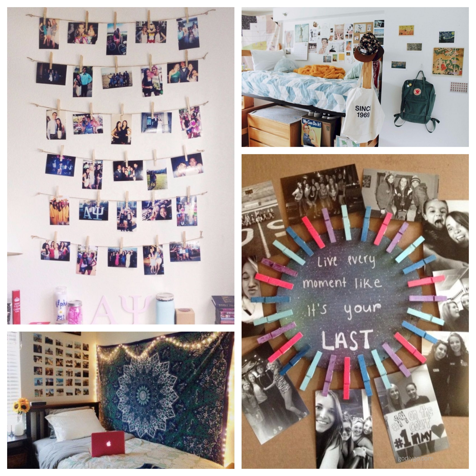 Best 38 Easy And Cheap Diy Dorm Decorations To Make Godiygo Com This Month