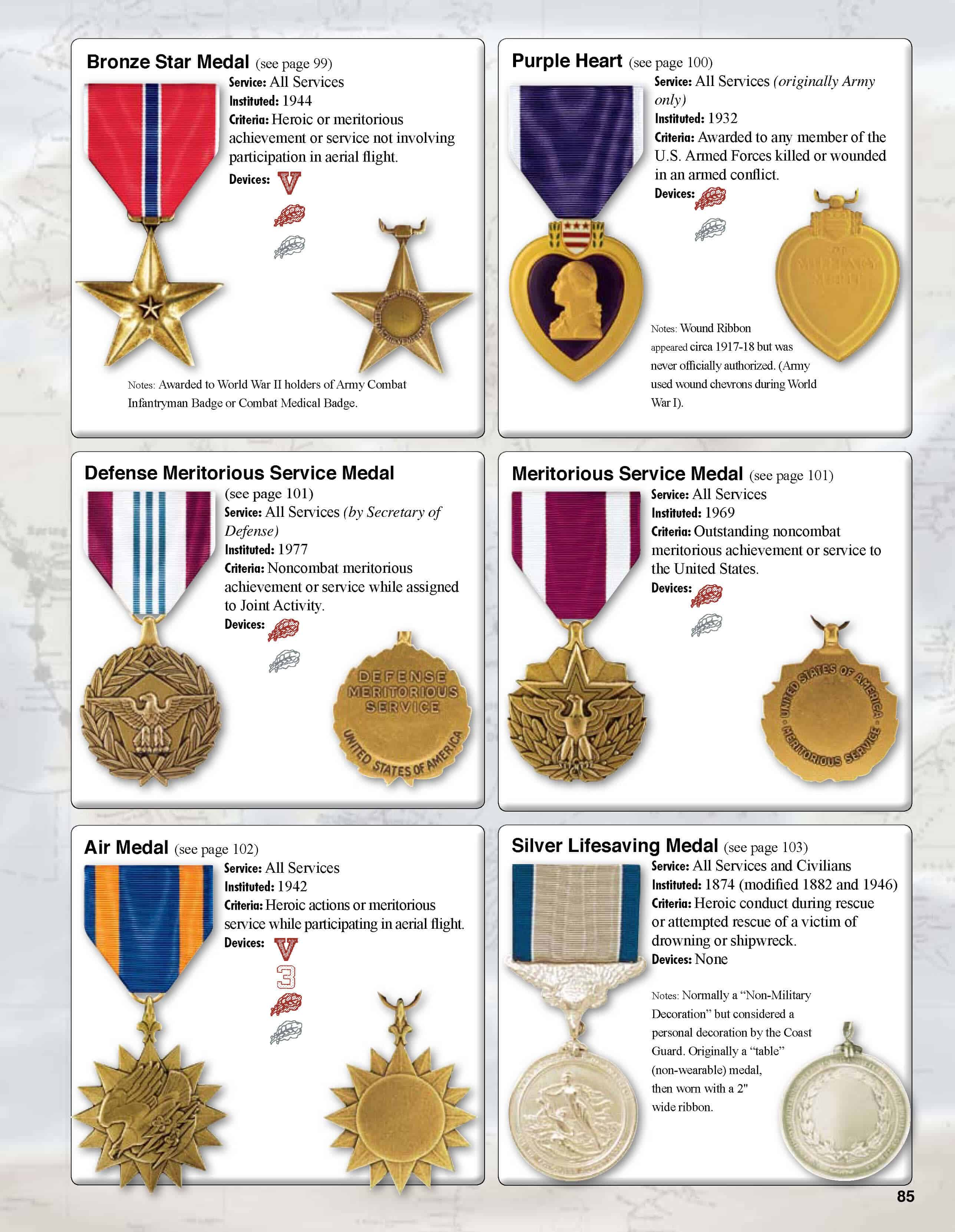 Best Us Army Medals And Decorations Billingsblessingbags Org This Month