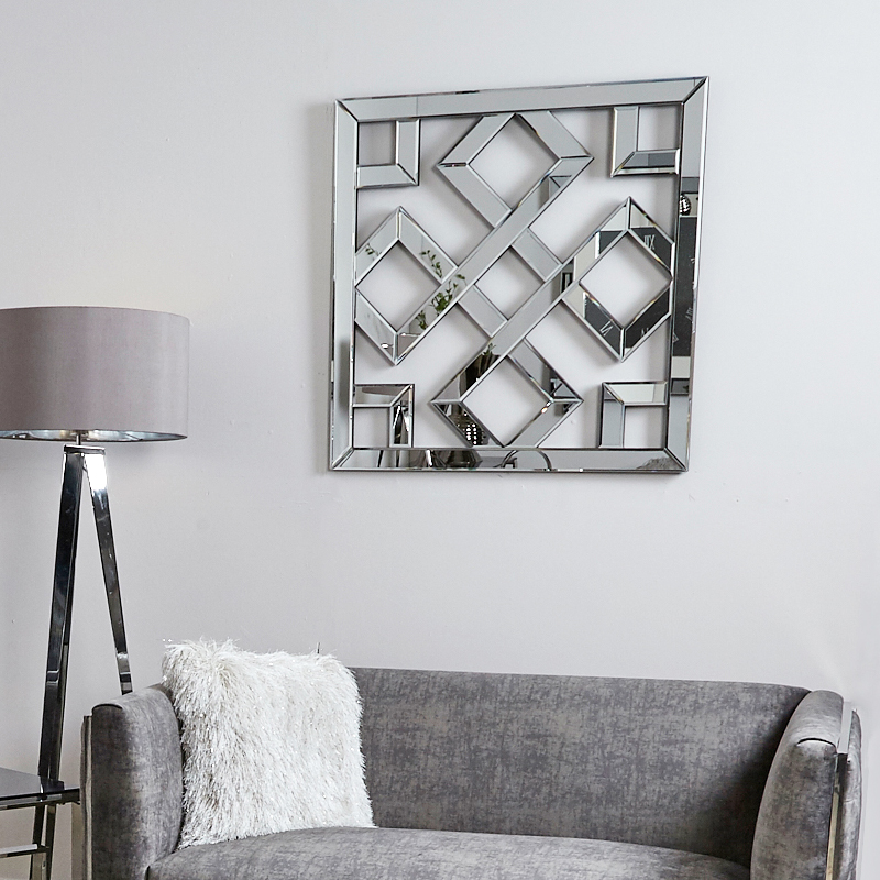Best Diamond Geometric Mirror Wall Art Picture Perfect Home This Month