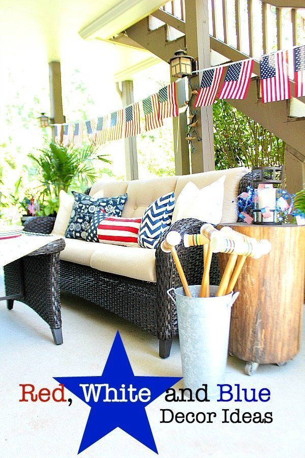 Best Red White And Blue Americana Decor Refresh Restyle This Month