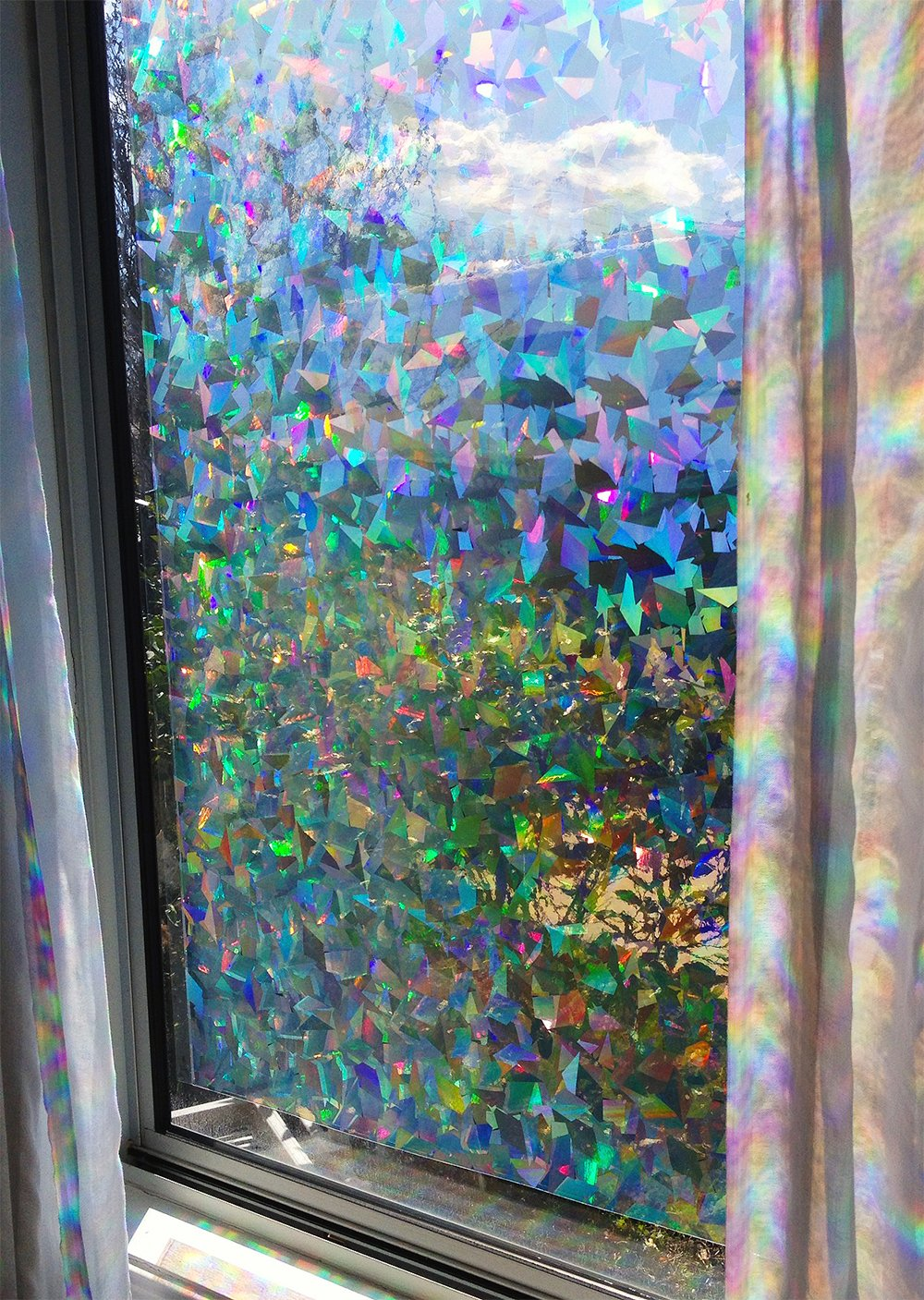 Best Buy Decorative Window Film Holographic Prismatic Etched This Month