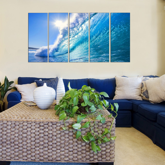 Best Ocean Theme Wall Art Beach Style Living Room New This Month