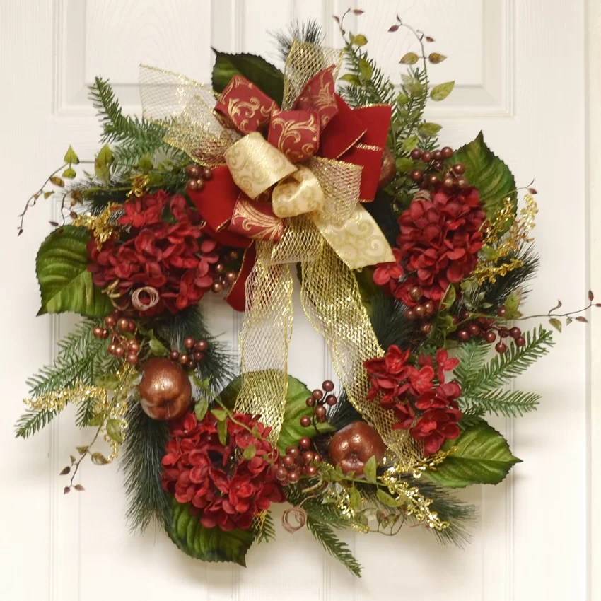 Best Floral Home Decor 24 Wreath Reviews Wayfair This Month