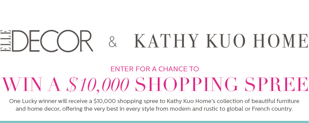 Best Kathy Kuo Sweepstakes This Month