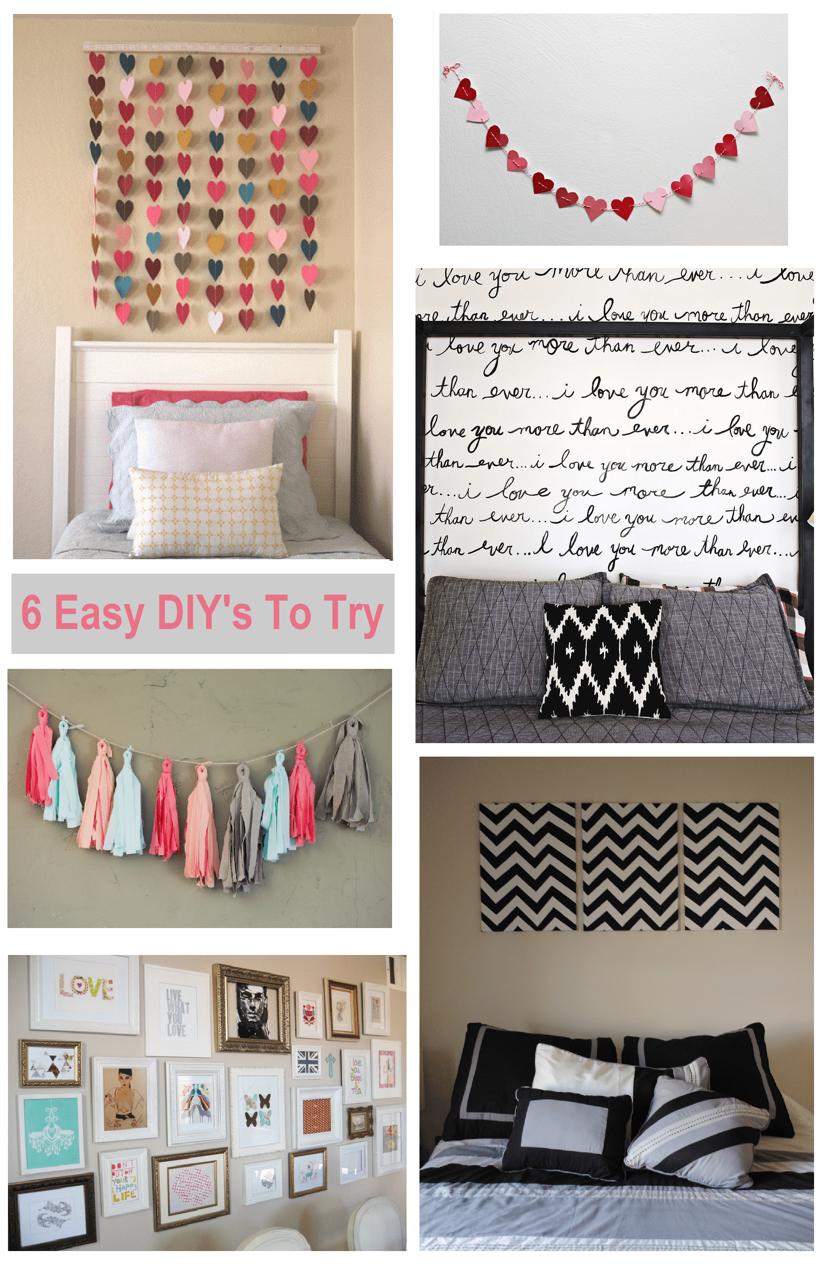 Best 6 Diy Bedroom Wall Art Ideas Shopgirl This Month
