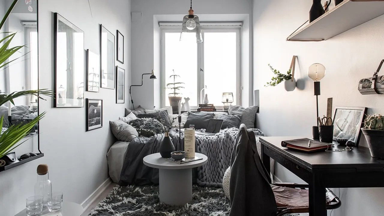 Best Small Bedroom Decorating Ideas For When Your Bed Takes Up This Month