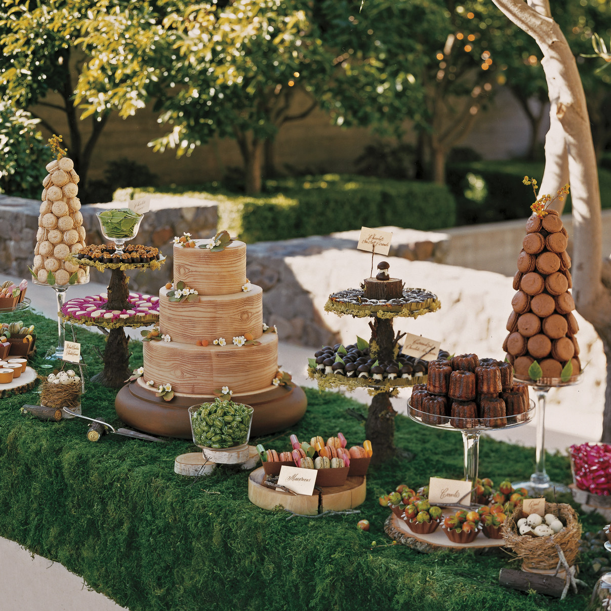 Best 39 Amazing Dessert Tables From Real Weddings Martha This Month