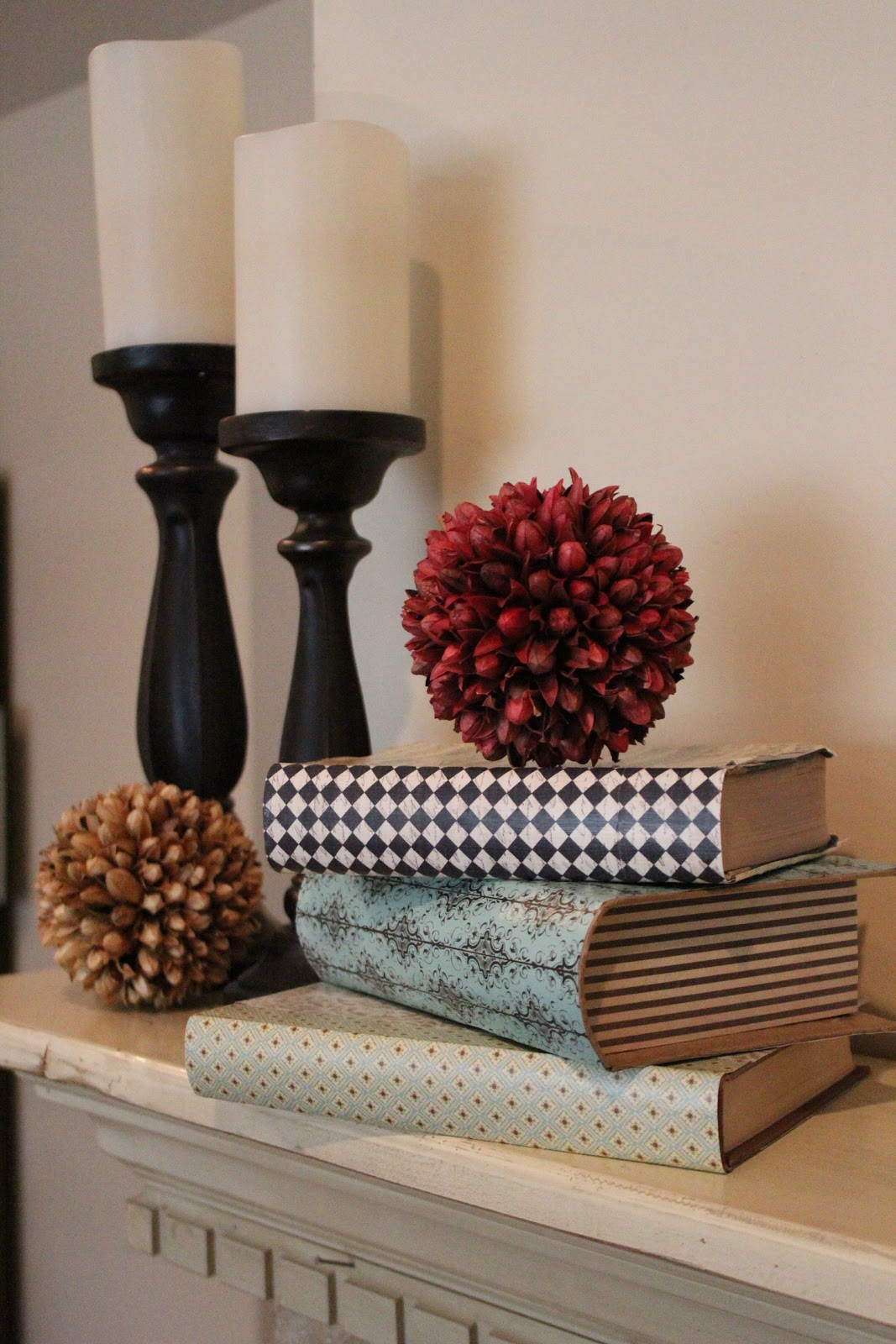 Best Mommy Vignettes Diy Hardcover Book Decor This Month