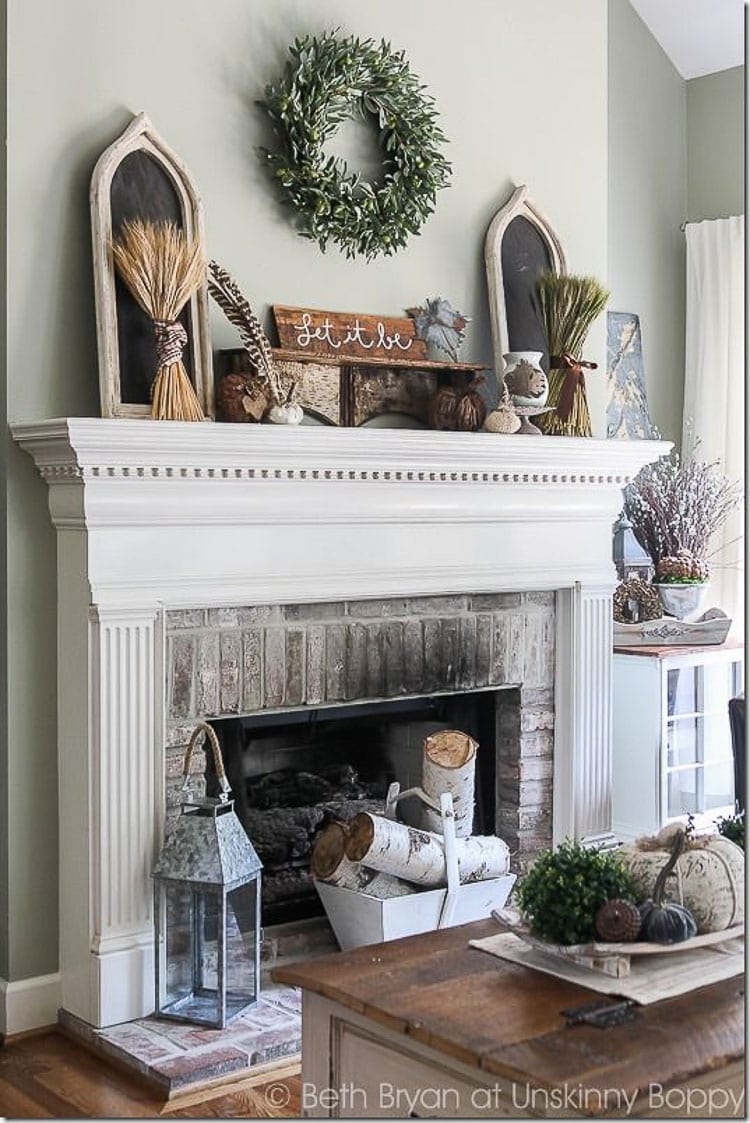 Best How To Decorate And Accessorize A Mantel A Blissful Nest This Month