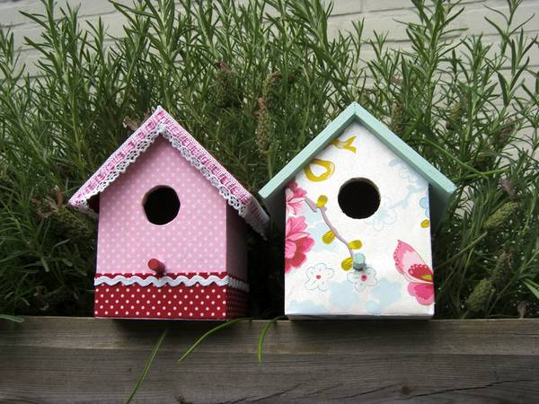 Best Design Your Own Bird House As Wall Decor In Your Childs This Month