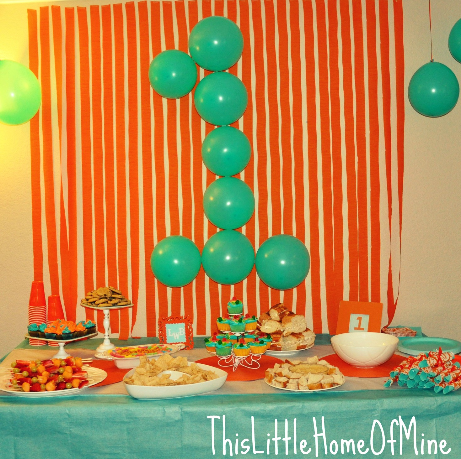 Best This Little Home Of Mine A Very First Birthday Party This Month