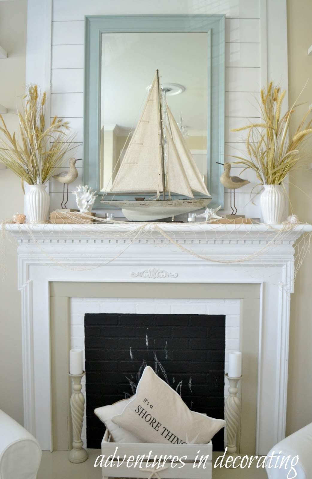 Best Adventures In Decorating Our Coastal Sitting Room This Month