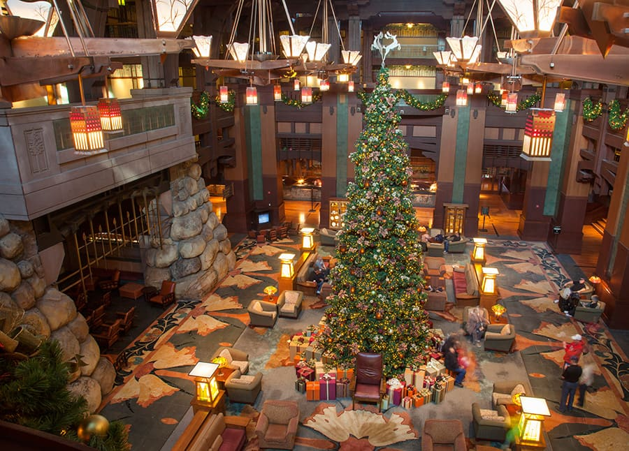 Best Christmas Trees Of The Disneyland Resort Disney Parks Blog This Month