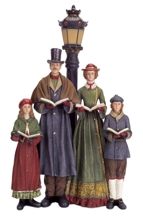 Best 20 Led Lighted Carolers With Lamp Post Table Top This Month