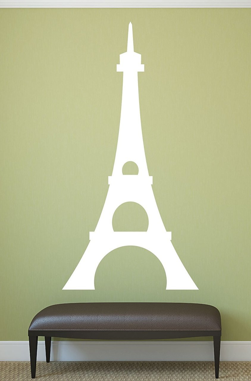 Best Eiffel Tower Wall Decal Paris Wall Decor This Month