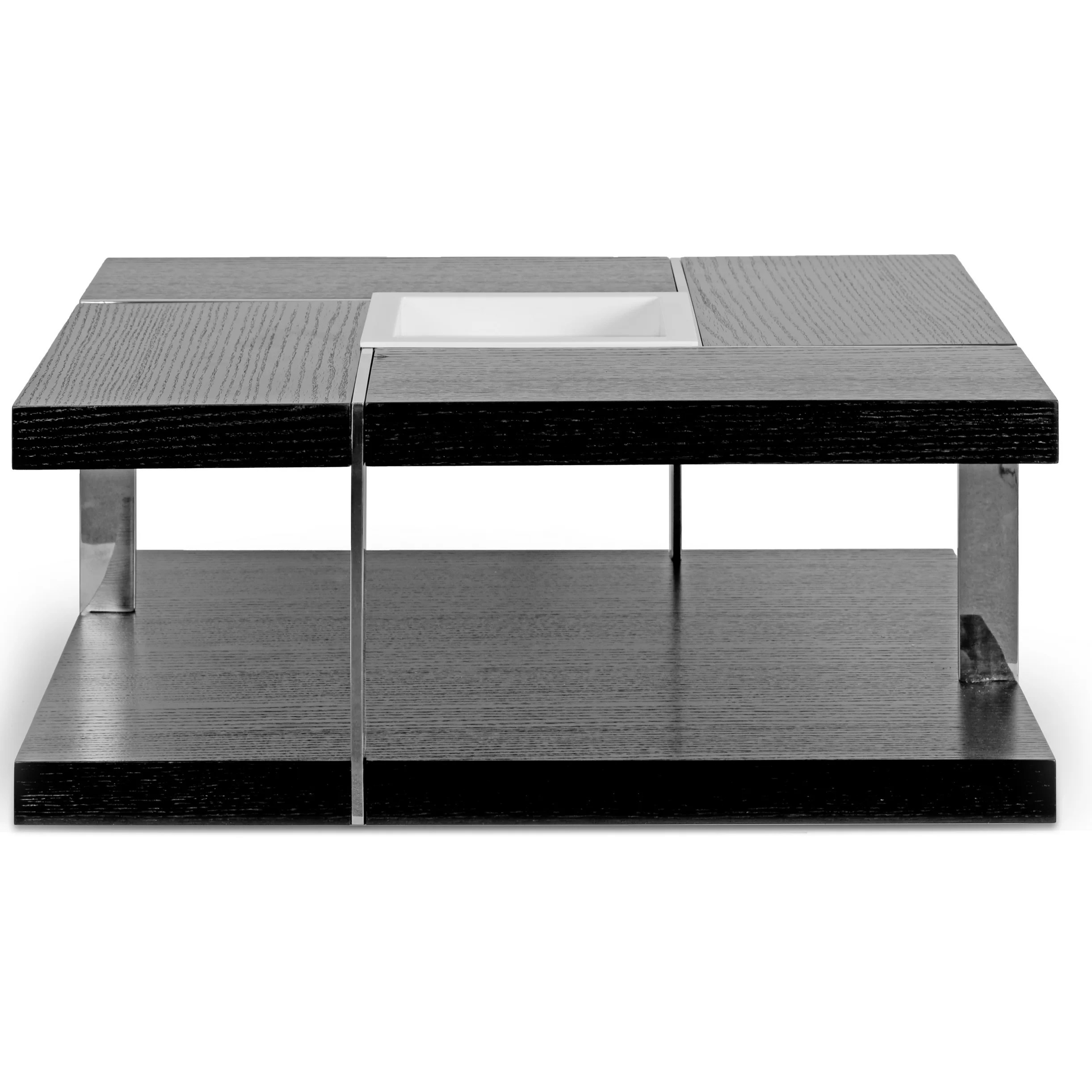 Best Glamour Home Decor Aira Square Coffee Table With Tray Top This Month