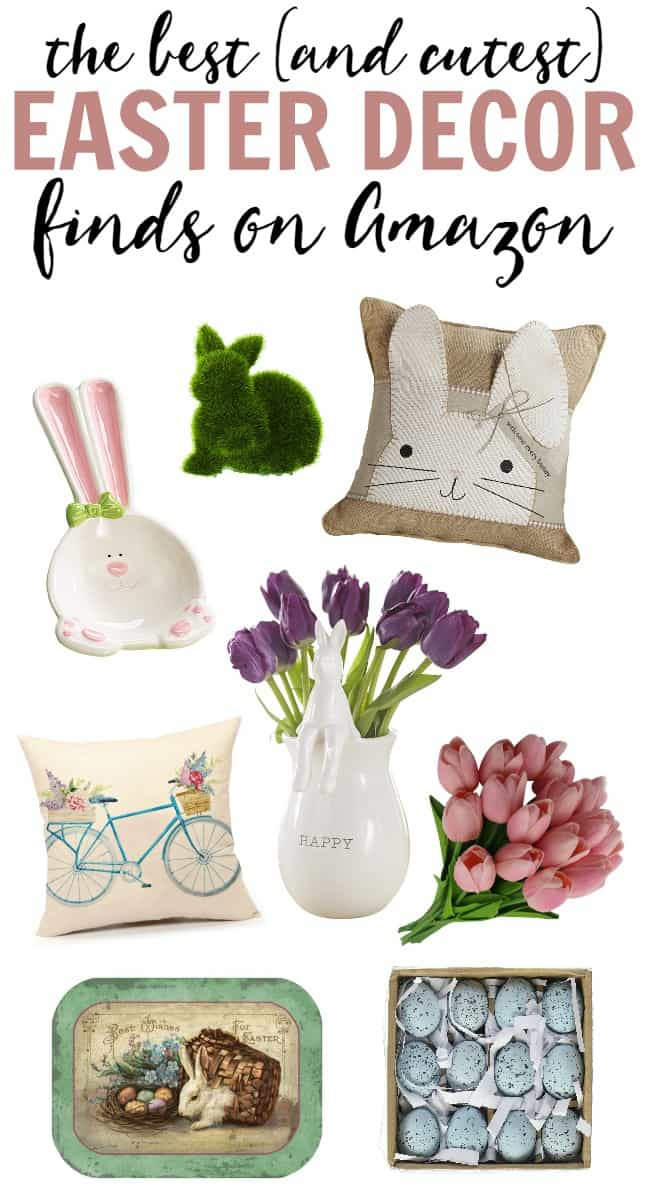 Best The Best Easter Decor Finds On Amazon This Month