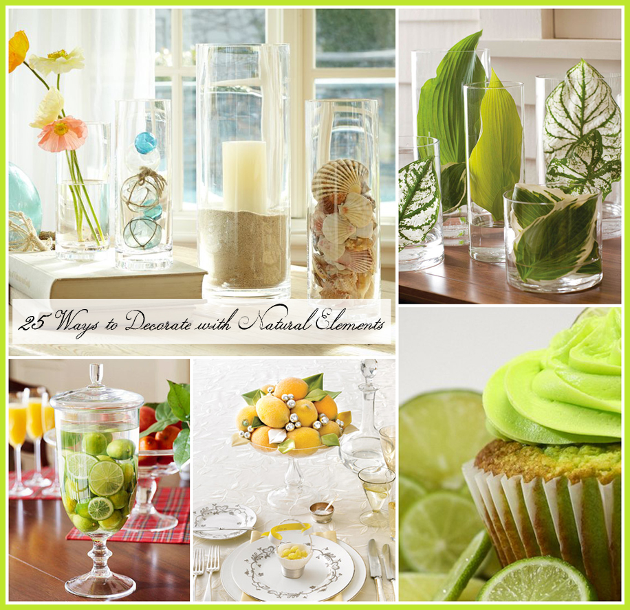 Best Natural Decor Inspiration 25 All Natural Decorating Ideas This Month