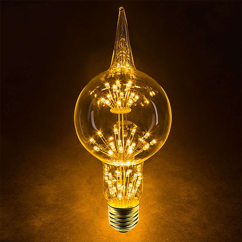 Best Led Fireworks Bulb G80 Decorative Alien Light Bulb 15 This Month