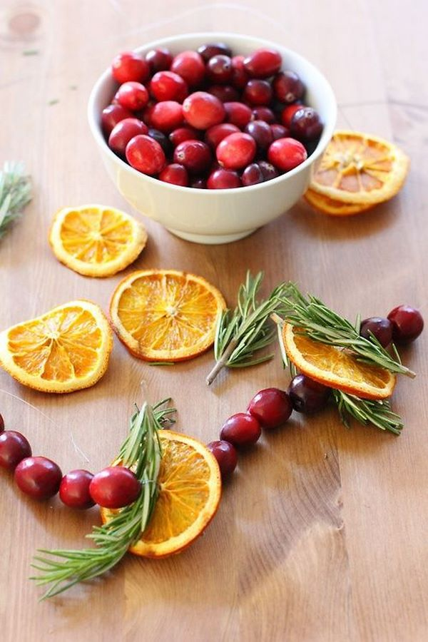 Best How To Make A Dried Fruit Garland – Eco Friendly Christmas This Month