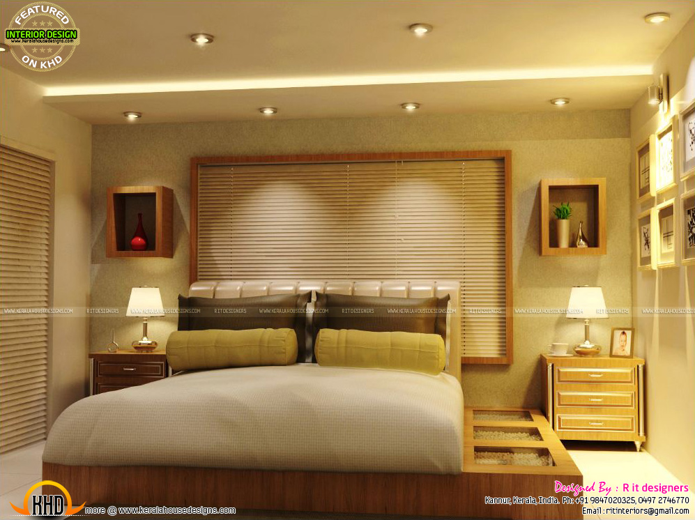 Best Master Bedrooms Interior Decor Kerala Home Design And This Month