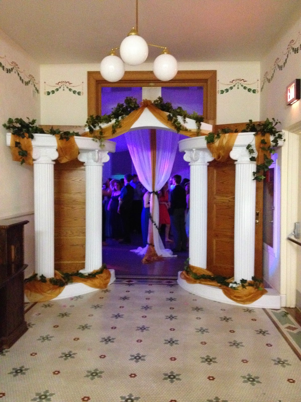 Best Party People Event Decorating Company Greek Theme Prom This Month