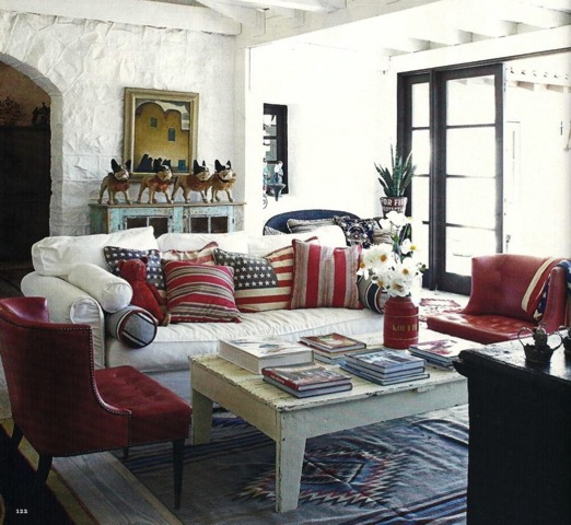 Best Red White And Blue Interior Djd Design This Month