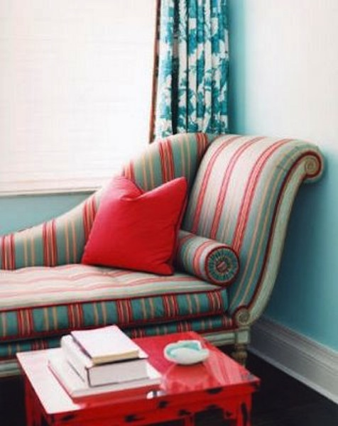 Best Color Scheme Turquoise And Red Eclectic Living Home This Month