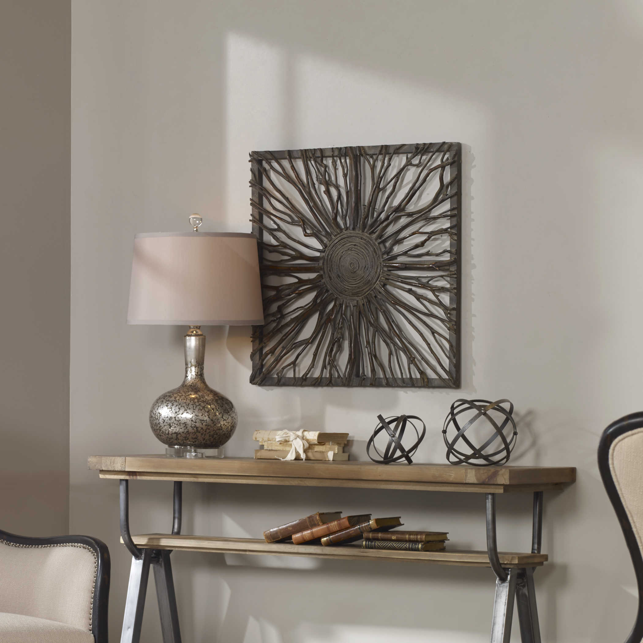 Best Uttermost Josiah Square Wooden Wall Art This Month