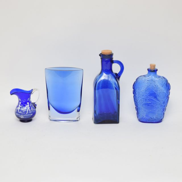Best Cobalt Blue Glass Decor Ebth This Month