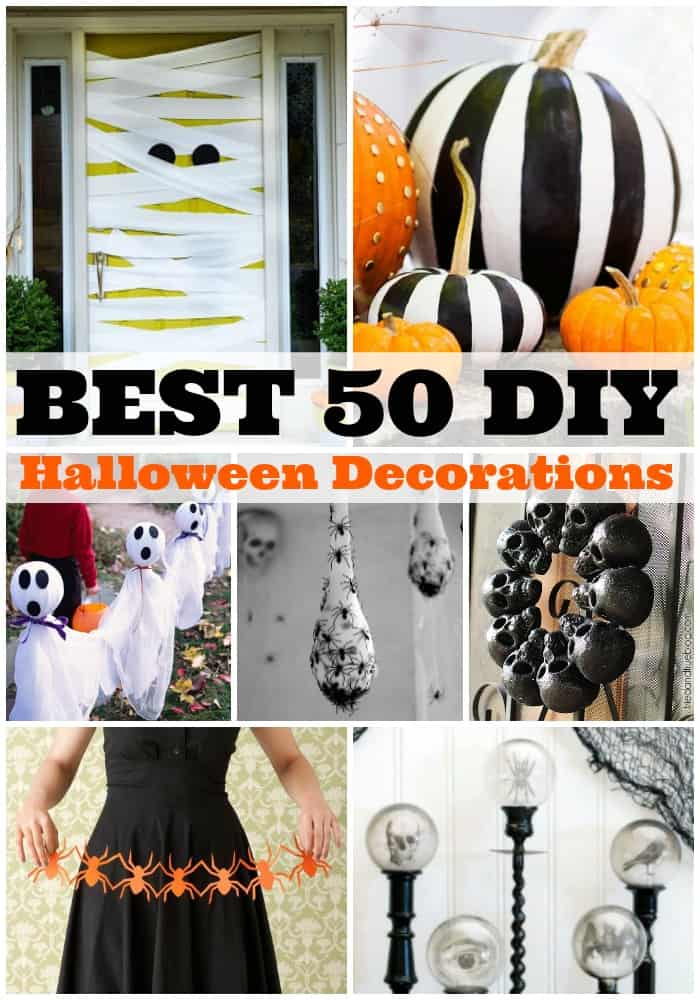 Best 50 Diy Halloween Decorations A Dash Of Sanity This Month