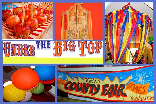Best Under The Big Top Carnival Birthday Design Dazzle This Month