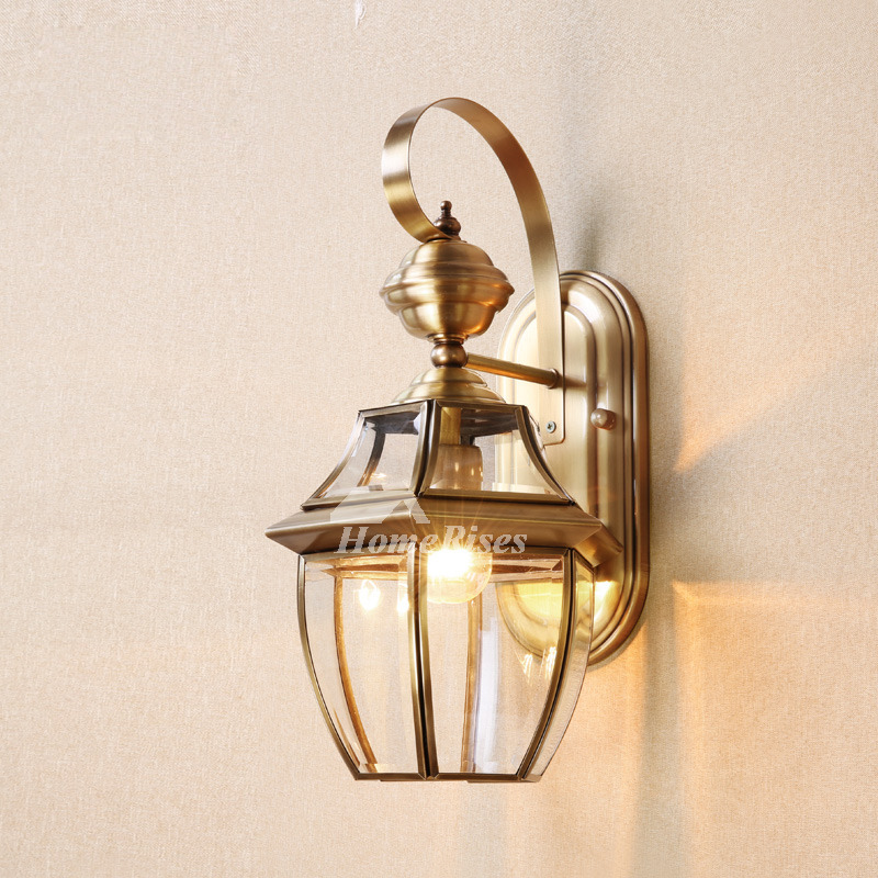 Best Brass Wall Sconce Glass Outdoor Decorative Lighting Unique This Month