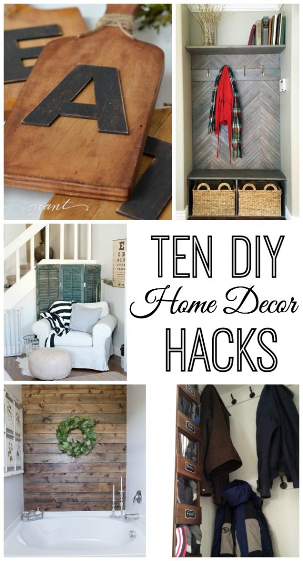 Best 10 Do It Yourself Home Decor Hacks This Month