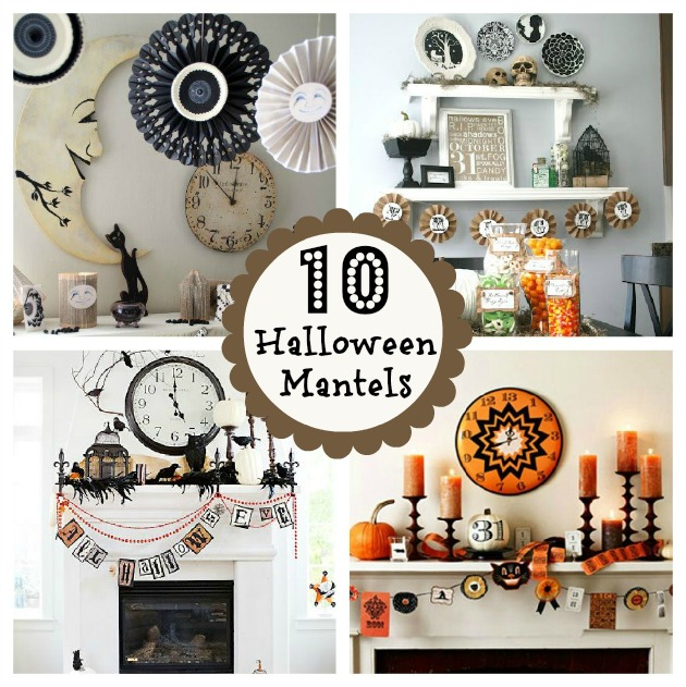 Best 10 Halloween Mantels Do It Yourself Decorating Home This Month