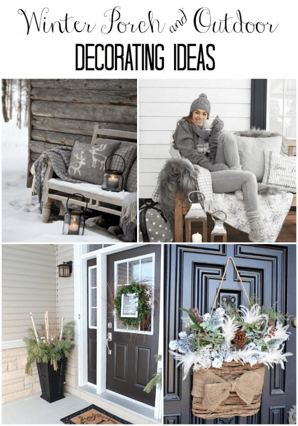 Best Winter Porch And Winter Outdoor Decorating Ideas This Month
