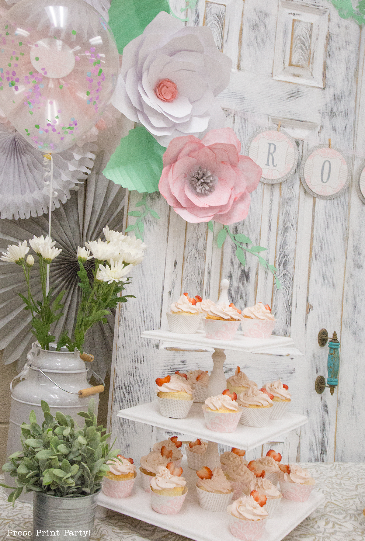 Best A Sweet Vintage Baby Shower By Press Print Party This Month