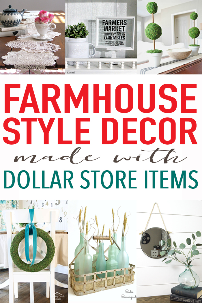 Best 20 Farmhouse Decor From The Dollar Store Craft Ideas This Month