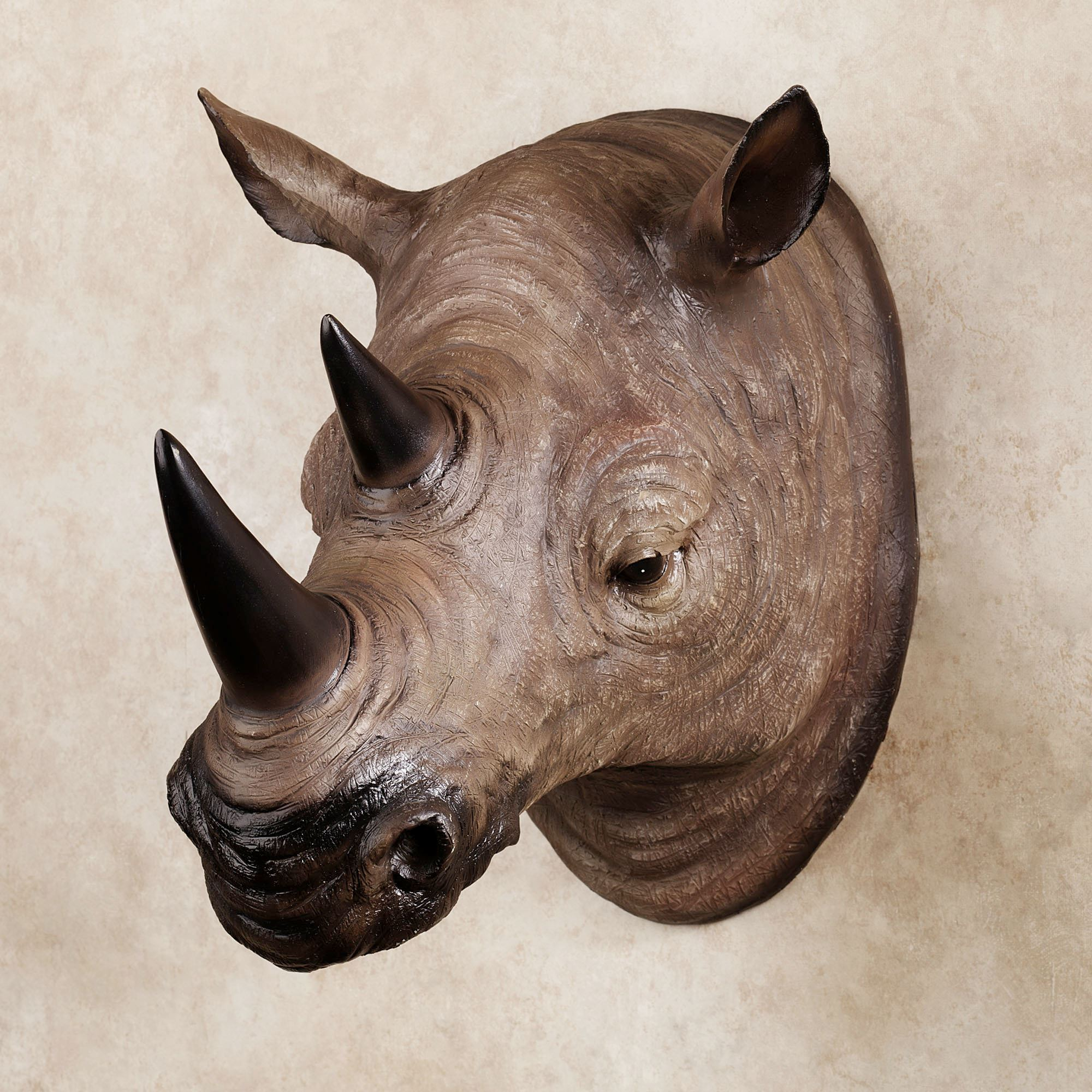 Best Resin Rhinoceros Head Wall Art This Month