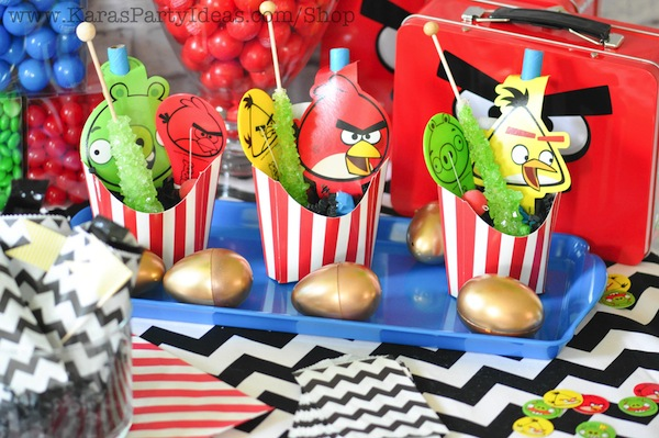 Best Kara S Party Ideas Angry Birds Themed Birthday Party This Month