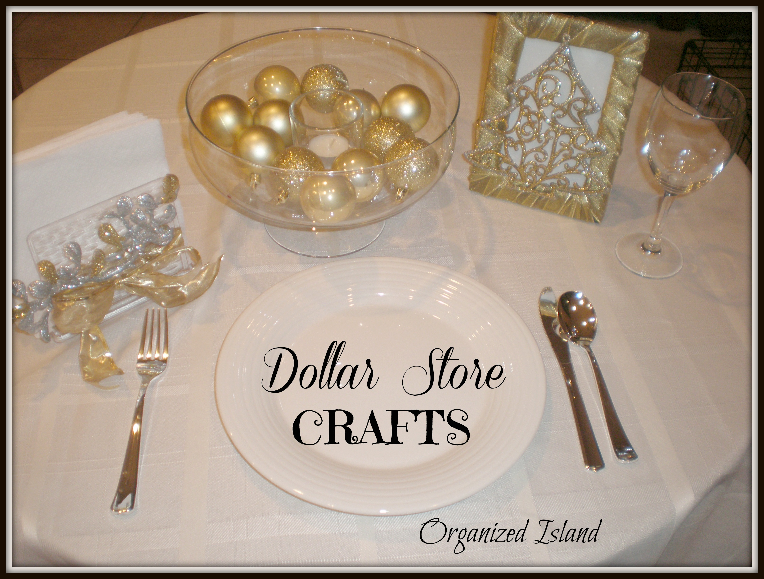 Best Dollar Store Christmas Decorations Gold And Silver This Month