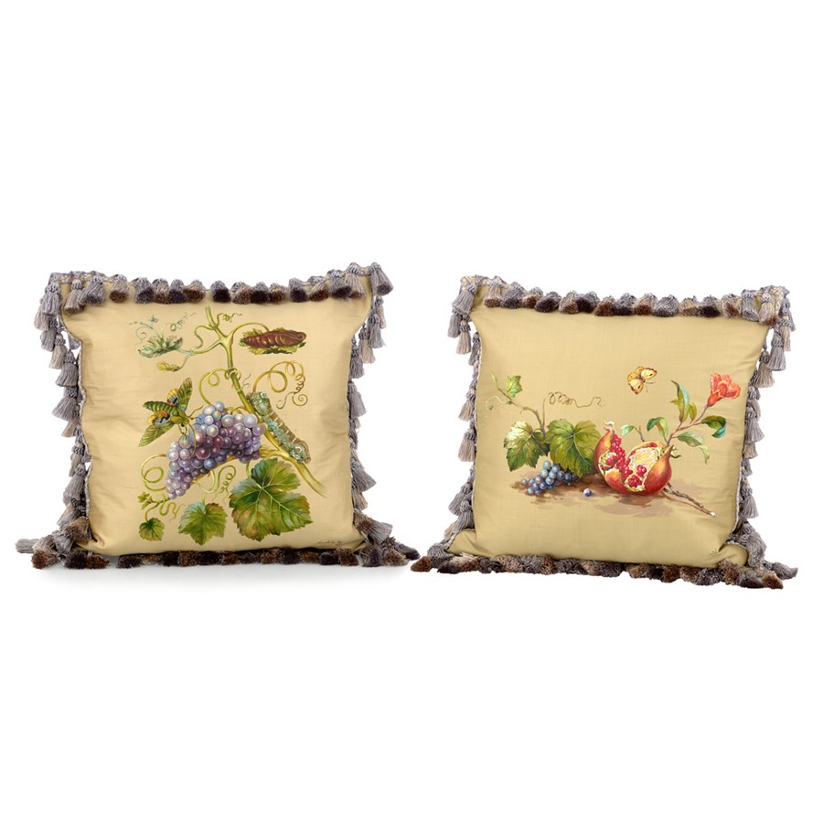 Best Butterfly Grapes Pillows Pillows Home Decor This Month