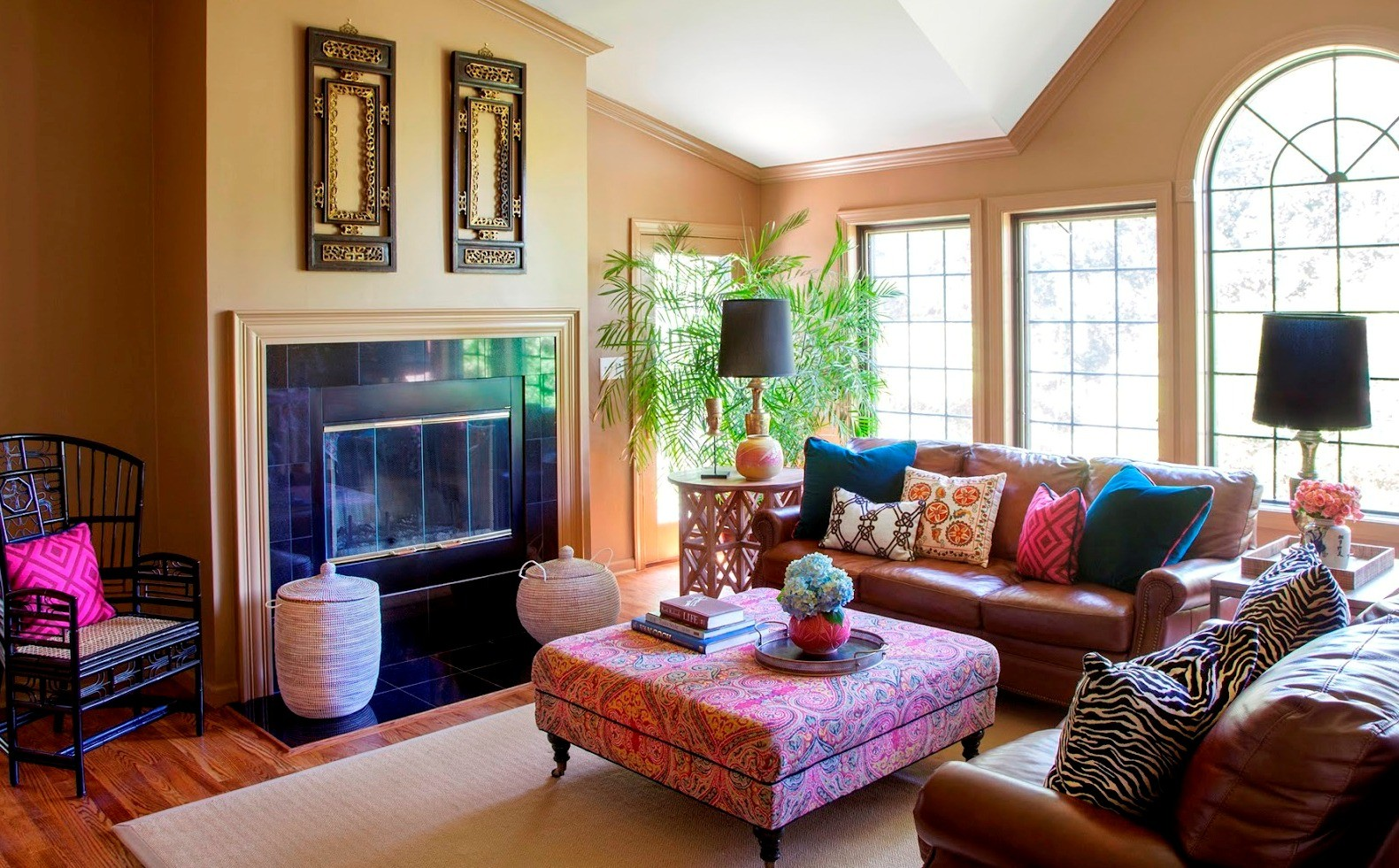 Best 10 Bohemian Style Living Room Ideas This Month