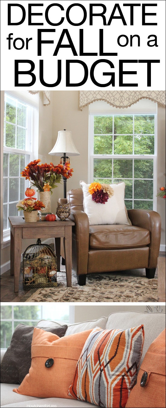 Best Fall Decorating On A Budget How To Nest For Less™ This Month